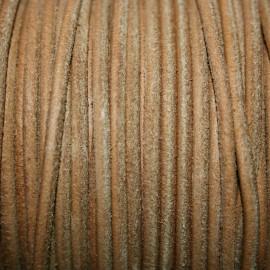 Cuero navy marrón claro