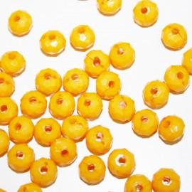 Facetada amarilla x 25 unidades