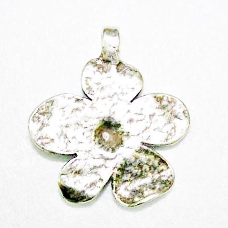 Colgante flor 5 pétalos