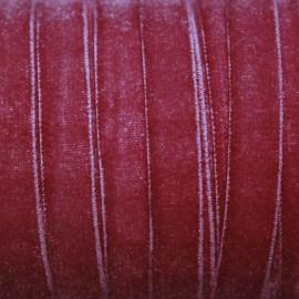 Terciopelo ELASTICO rosa oscuro
