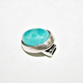 Cierre botón turquesa pequeño