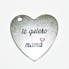 """Corazón grande """"Te quiero mamá"""""""
