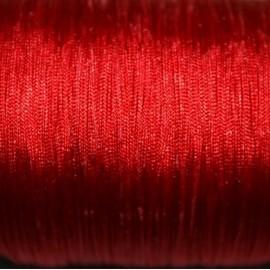 Hilo macramé rojo