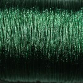 Hilo macramé verde oscuro