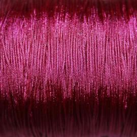 Hilo macramé rosa oscuro