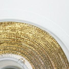 Elástico 1mm dorado