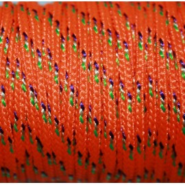 Paracord naranja 3mm