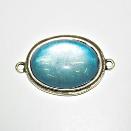 Conector resina azul claro