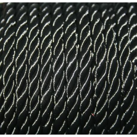 Pasamanería 5mm negra