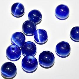 Ojo de gato azul de 12mm