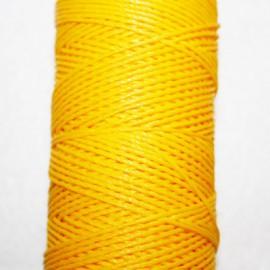 Hilo algodón encerado amarillo x 5 metros