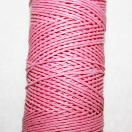 Hilo algodón encerado rosa x 5 metros