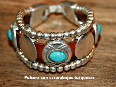 Pulsera_Escarabajo turquesa_5905_foto