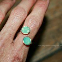 Nuevo anillo para 2 cristales de 8,16mm... Adaptable!!!!