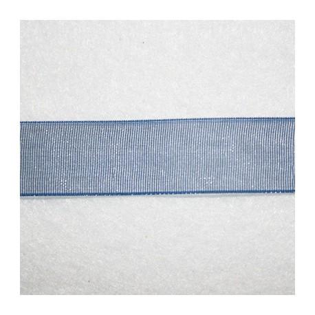 Organza Azul Marino x metro