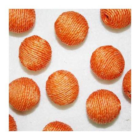 Bola cordón naranja