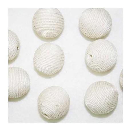 Bola cordón blanca