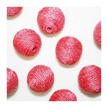 Bola cordón rosa oscuro