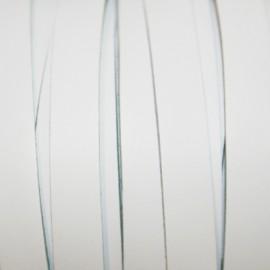 Cuero plano blanco 10mm
