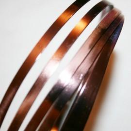 Aluminio Plano Marron de 5mm
