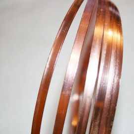 Aluminio  Plano Rosado Cl. de 5mm