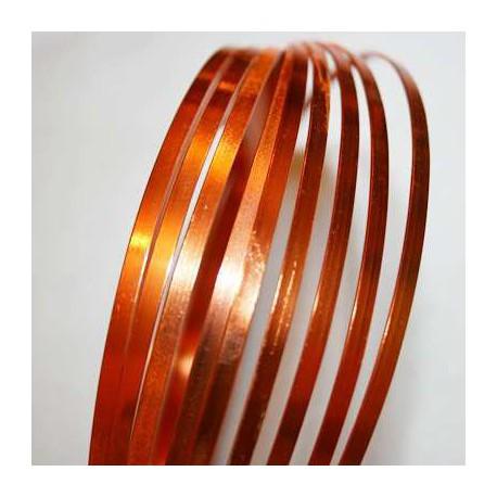 Aluminio Plano Naranja de 3mm