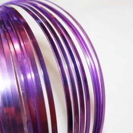 Aluminio Plano Violeta de 3mm