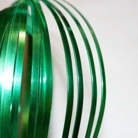 Aluminio Plano Verde de 3mm