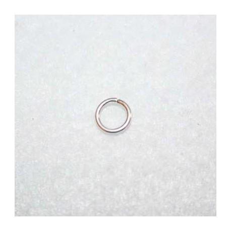 Anilla baño de plata 8mm