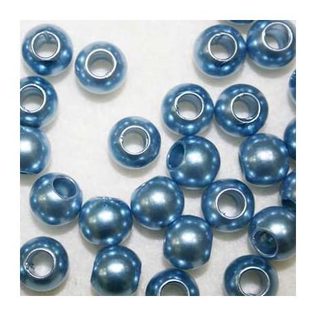Perla sintética azul claro paso 5mm