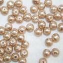 Perla sintética beige de 8mm