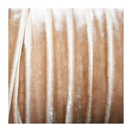 Terciopelo beige