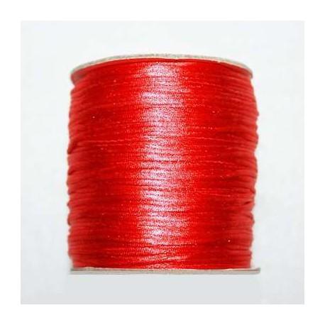 Cola de ratón roja 1mm x 5 metros