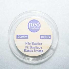 Elástico 0.3mm x 10m