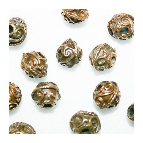 Arabescos bronce