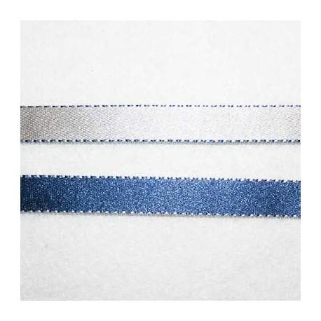 Cinta doble cara azul y gris 10mm
