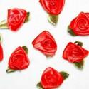 Flor Roja de 18mm