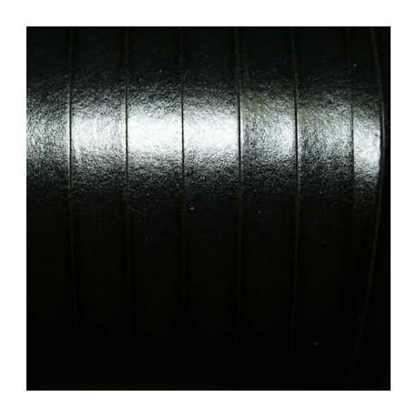 Cuero sintético plano 10mm negro
