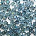 Facetada Checa 6mm azul montana AB