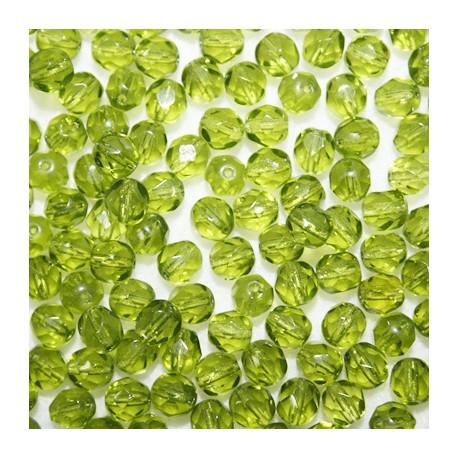 Facetada Checa 6mm verde oliva