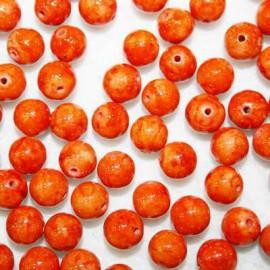 Fósil 8mm naranja