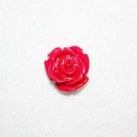 Rosa de resina pequeña roja