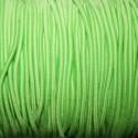 Elástico 2mm verde claro
