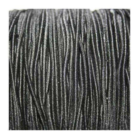 Elástico 2mm negro
