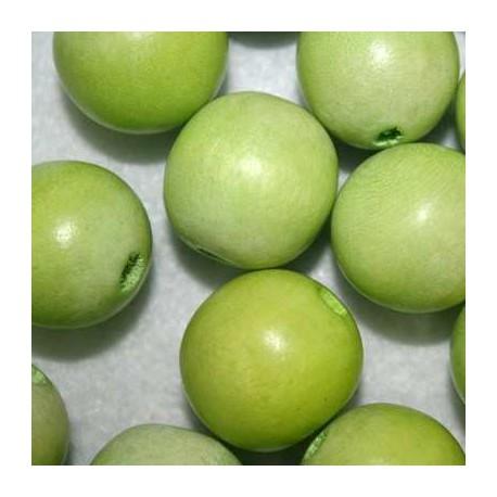 Bola madera verde manzana 20mm