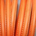 1- Media Caña Naranja Fluo x cm