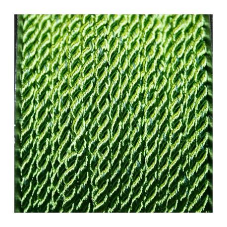 Pasamanería 3mm verde oliva
