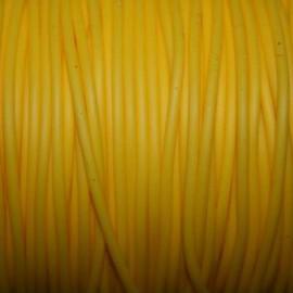 Caucho amarillo 2mm hueco