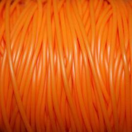 Caucho naranja 2mm hueco