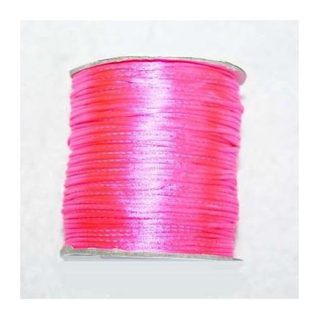 Cola de ratón rosa fluor 1mm x 5 metros